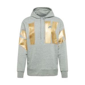 Nike Sportswear Mikina  žlutá / šedá