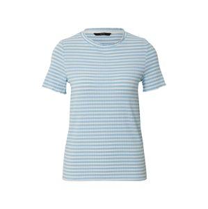 VERO MODA Tričko 'VMKIRI'  bílá / modrá