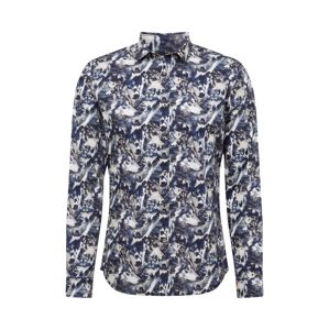 CINQUE Košile 'Cispuky'  námořnická modř / bílá
