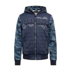 CAMP DAVID Přechodná bunda 'jacket with hood'  námořnická modř