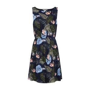 TOM TAILOR DENIM Letní šaty  námořnická modř / mix barev