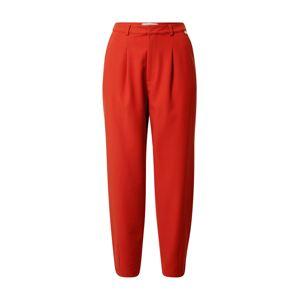 Rich & Royal Kalhoty s puky  červená