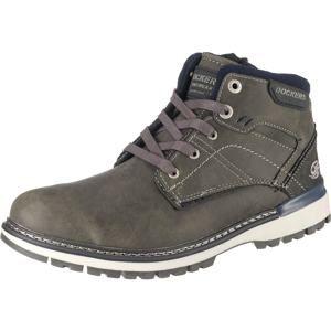 Dockers By Gerli Šněrovací boty  námořnická modř / tmavě šedá / bílá
