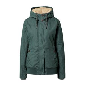 mazine Zimní bunda  pastelově zelená