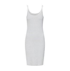 ONLY Letní šaty 'onlJOY S/L BODYCON DRESS JRS'  modrá / bílá