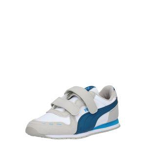 PUMA Tenisky 'Cabana Racer'  námořnická modř / modrá / bílá / světle šedá
