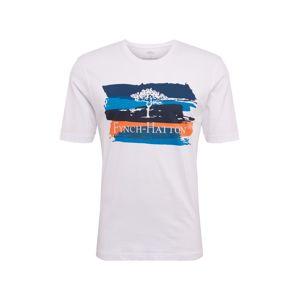 FYNCH-HATTON Tričko  modrá / bílá