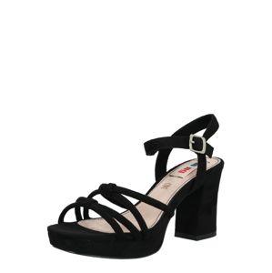 MTNG Páskové sandály 'VOLGA'  černá