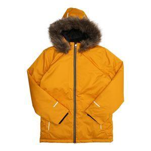 NAME IT Zimní bunda 'NKMSNOW08'  hořčicová