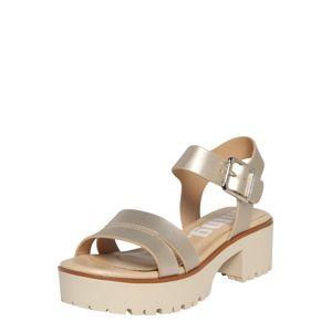 MTNG Páskové sandály 'PLEXY'  zlatá