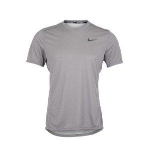 NIKE Funkční tričko 'MILER TECH'  šedá