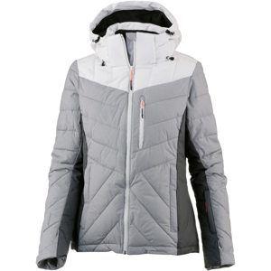 ICEPEAK Sportovní bunda 'Kendra'  světle šedá / tmavě šedá / bílá