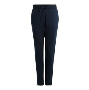 UNDER ARMOUR Sportovní kalhoty 'FLEECE'  černá / tmavě modrá