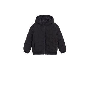 MANGO KIDS Zimní bunda 'KEVIN'  černá