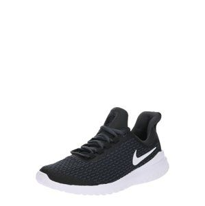 NIKE Sportovní boty 'Lunar Hayward'  černá / bílá