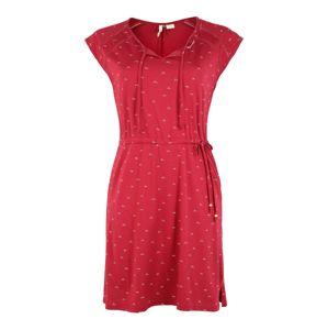 Ragwear Plus Šaty 'TETUAN ORGANIC PLUS'  červená