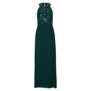 S.Oliver BLACK LABEL Společenské šaty  smaragdová