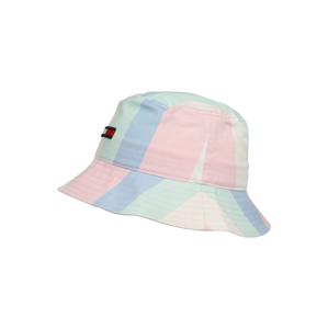Tommy Jeans Klobouk  pastelově růžová / kouřově modrá / pastelově zelená / pastelově žlutá / červená