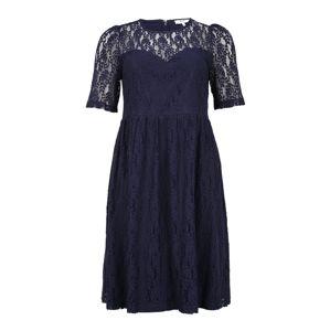 ABOUT YOU Curvy Koktejlové šaty 'Sofie'  tmavě modrá