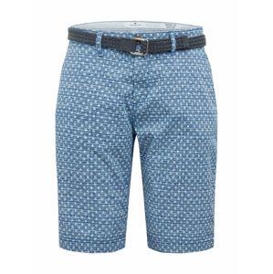 TOM TAILOR Chino kalhoty  kouřově modrá / světlemodrá
