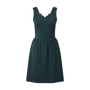ONLY Letní šaty 'Amber'  tmavě zelená