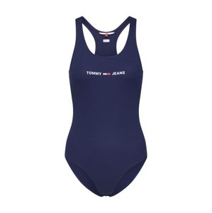 Tommy Jeans Tričkové body 'STRAP'  námořnická modř / červená / bílá