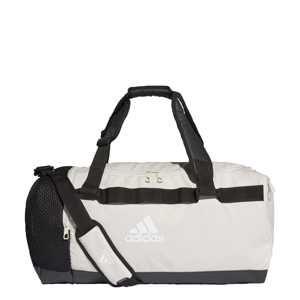 ADIDAS PERFORMANCE Sportovní taška 'Convertible Duffel'  krémová / černá