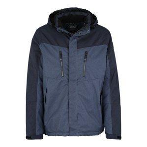KILLTEC Outdoorová bunda 'Tiggo'  modrá / tmavě modrá