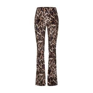 Noisy May Kalhoty 'OLE FLARED PANT'  hnědá / černá