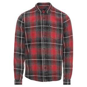 Tigha Košile 'Namir'  červená / černá