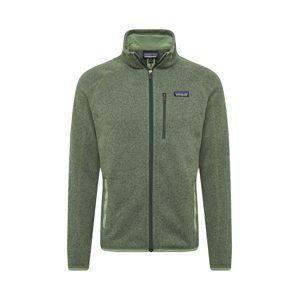 PATAGONIA Funkční fleecová mikina 'M's Better Sweater'  tmavě zelená