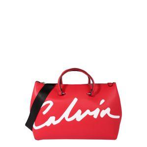 Calvin Klein Jeans Taška Weekender  červená