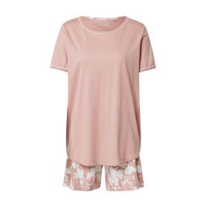 CALIDA Pyžamo 'Sweet Dreams'  bílá / růžová