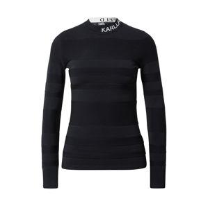 Karl Lagerfeld Svetr  černá / bílá