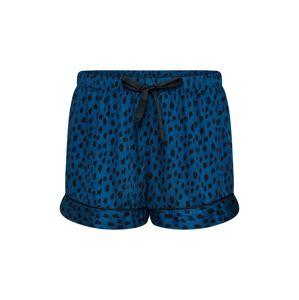 Hunkemöller Pyžamo 'Leopard'  tmavě modrá