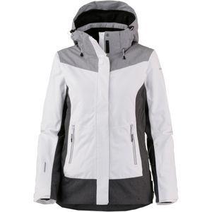 ICEPEAK Outdoorová bunda 'Katia'  šedá / tmavě šedá / černá / bílá