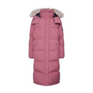 Calvin Klein Zimní kabát  růžová