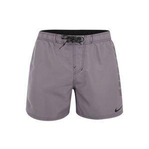Nike Swim Sportovní plavky 'Nike Rift Vital'  šedá / černá