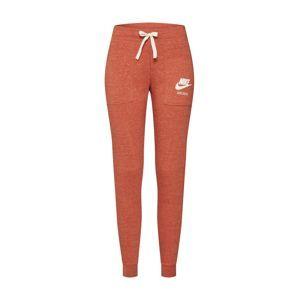 Nike Sportswear Kalhoty  tmavě oranžová