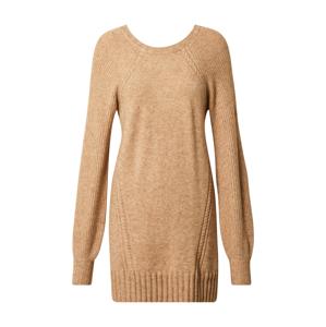 ONLY Úpletové šaty 'Sandy'  béžová