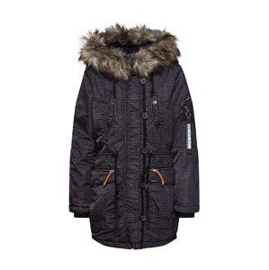 Khujo Zimní bunda 'LORENE'  mix barev / černá