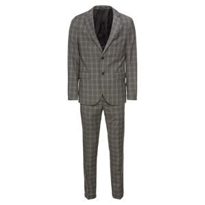 Pier One Oblek 'formal check suit'  grau