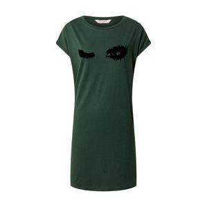 Hunkemöller Noční košilka  zelená / černá