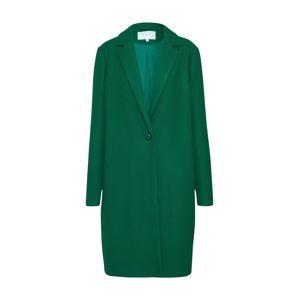 VILA Přechodný kabát 'VICOOLEY COAT'  zelená