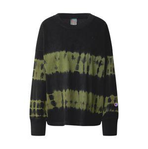 Champion Reverse Weave Tričko  černá / khaki