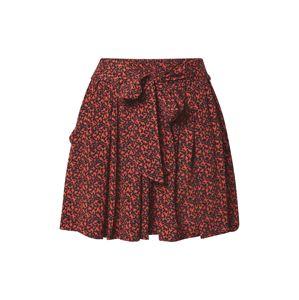 BE EDGY Kalhoty 'Janet'  červená / černá