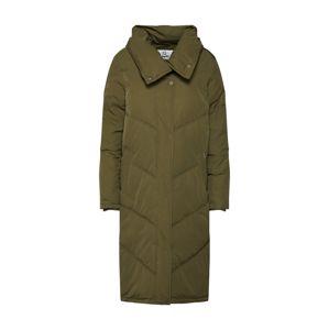 DREIMASTER Zimní kabát 'DREIMASTER DAMEN MANTEL'  olivová
