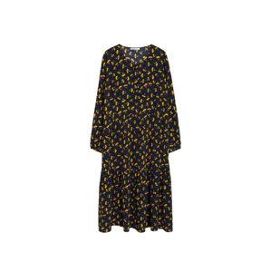 VIOLETA by Mango Košilové šaty 'marga'  námořnická modř