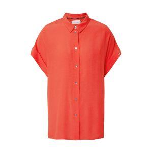 Calvin Klein Halenka 'SS TURN UP SHIRT'  oranžová