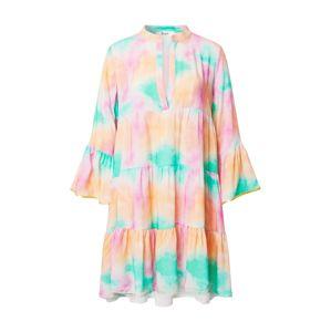Liebesglück Letní šaty  tyrkysová / lososová / pink